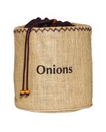 Onion Preserving Hessian Bag with Blackout Lining