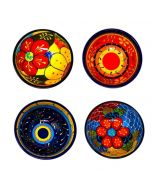 Single Large Assorted Hand Painted Classic Spanish Tapas Bowls 12cm