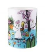 Moomin Trip to the Pond Unscented Paraffin Candle, Large