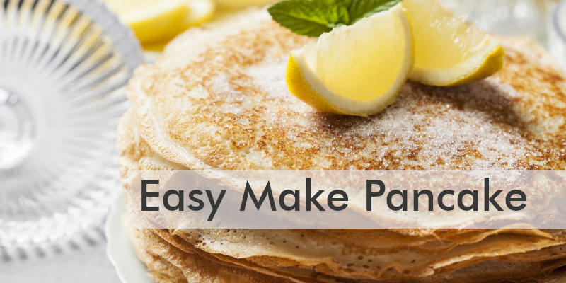 easy made pancakes